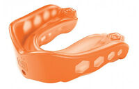 Shock Doctor Gel Max Mouthguard Convertible Youth or Adult Gum Piece Mouth Guard