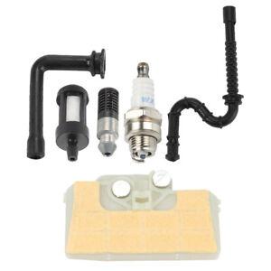 Combinaison-Tronconneuse-Filtre-a-air-Bougie-Carburant-Huile-LIGNE-Filtre-Pour-STIHL
