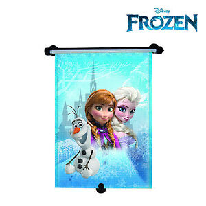 Disney Frozen Princess Elsa Car Window Roller Blind Sun Shade UV Block for Girls