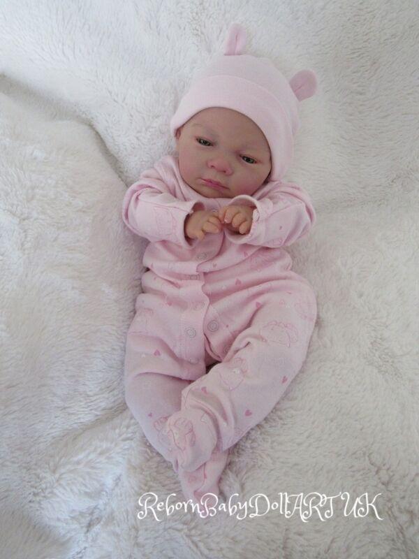 Cadeau de noel Yeux reborn Ouverts bébé reborn Yeux poupée fille par RebornBabyDollArtUK d99065