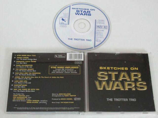THE TROTTER TRIO/SKETCHES ON STAR WARS(VARESE VSD-5794) CD ALBUM