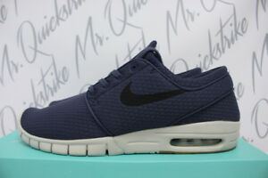 21c301b1e7ff NIKE SB STEFAN JANOSKI MAX SZ 8.5 THUNDER BLUE GUM BROWN LIGHT BONE ...