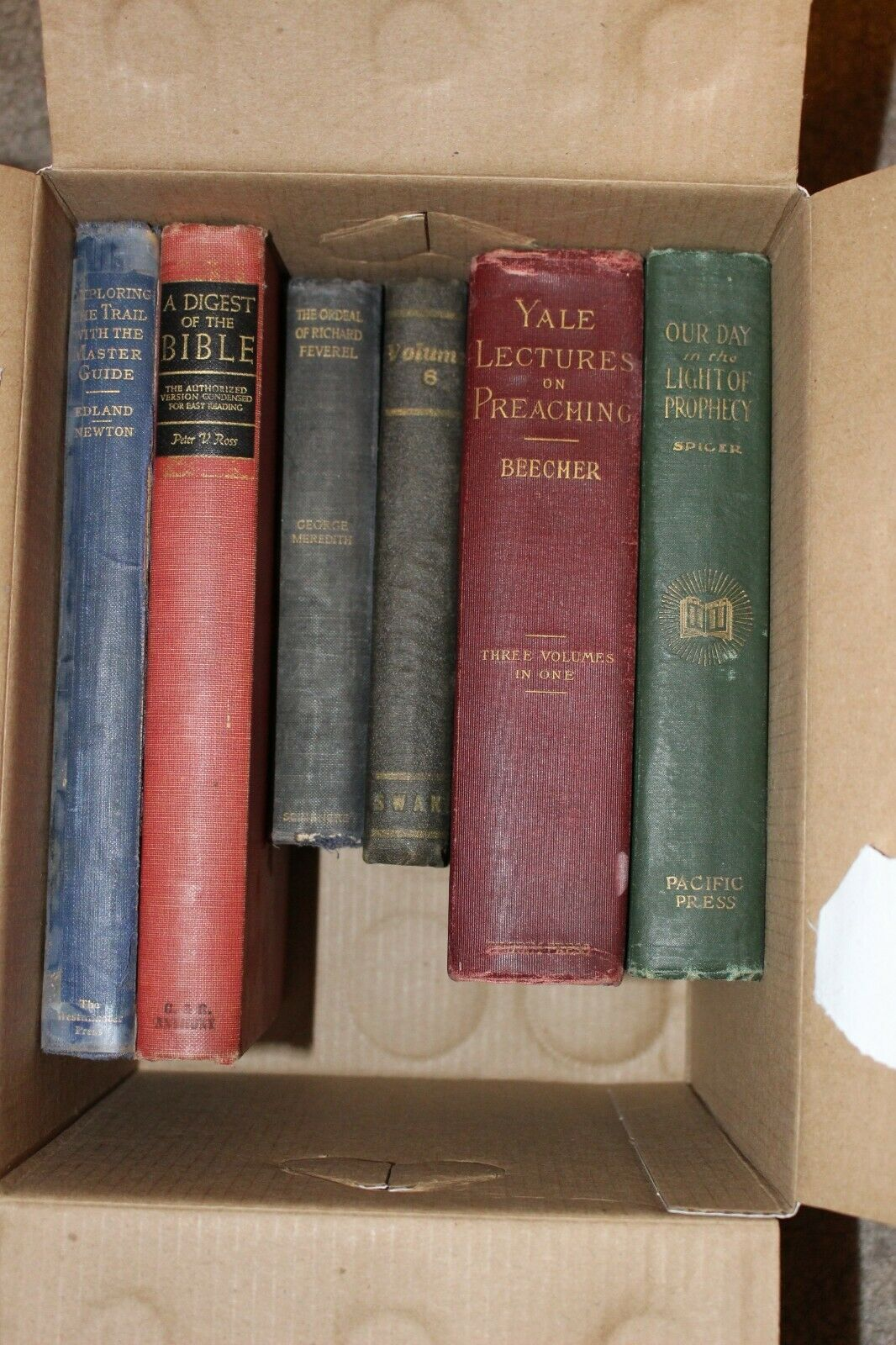 Lot of 10 Old/ Vintage Religious Books |