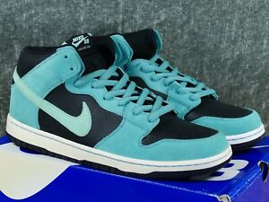 timeless design f87bc d2673 Image is loading Nike-Dunk-Mid-Pro-SB-034-Sea-Crystal-