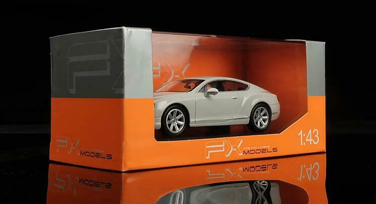WELLY 1 1 1 43 Alloy die casting model,Bentley Continental GT Gift collection 71632e