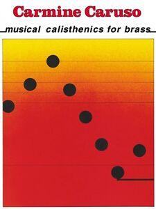 Adroit Carmine Caruso Musical La Gymnastique Pour Laiton Instructional Neuf 000842061-afficher Le Titre D'origine