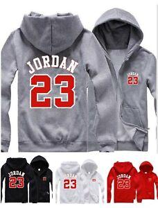 Mens Hoodie Michael Jordan 23 Hooded