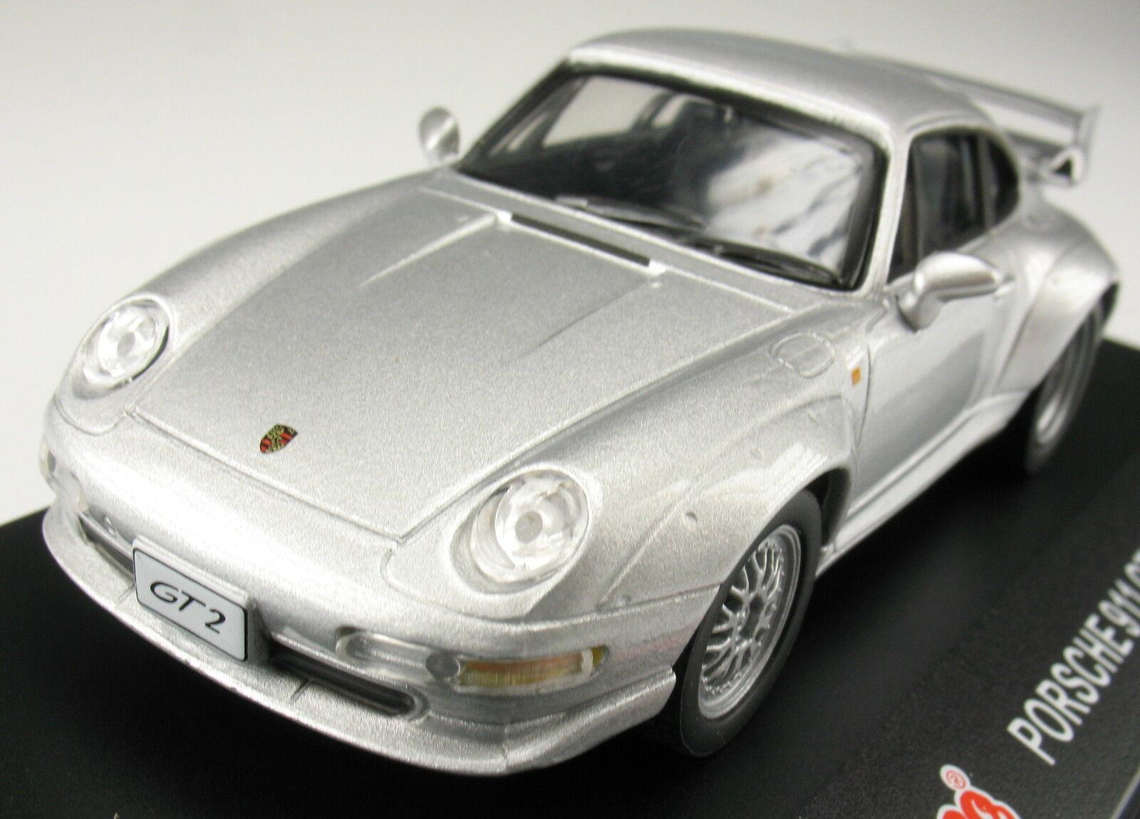 Schuco - Porsche 911 911 911 GT2 - silber metallic - 1 43 - NEU in OVP - Modellauto  | Mangelware  ce0901