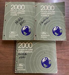 2000 FORD Crown Victoria Grand Marquis Workshop Service ...
