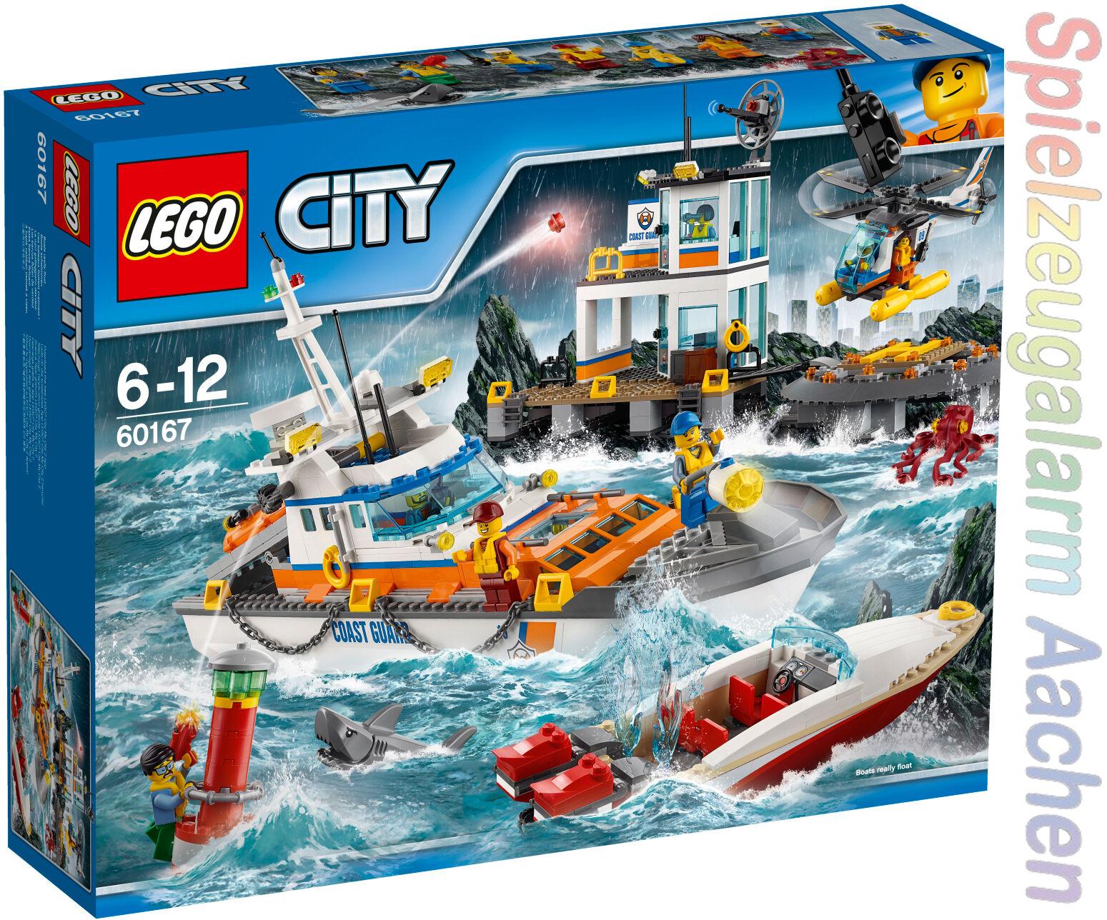 LEGO 60167 City Coast Guard Küstenwachzentrum Le QG des gardes-côtes N8 17