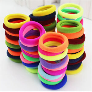 10Pcs-Set-Simple-Fashion-Seamless-Head-Strap-High-Elastic-Rubber-Bands-LD