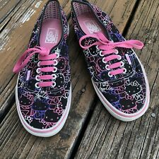 item 4 Vans Off The Wall Black Pink Hello Kitty Sneakers Womens 9 M 7.5  Skate Sk8 Shoes -Vans Off The Wall Black Pink Hello Kitty Sneakers Womens 9  M 7.5 ... 5f7352f3c