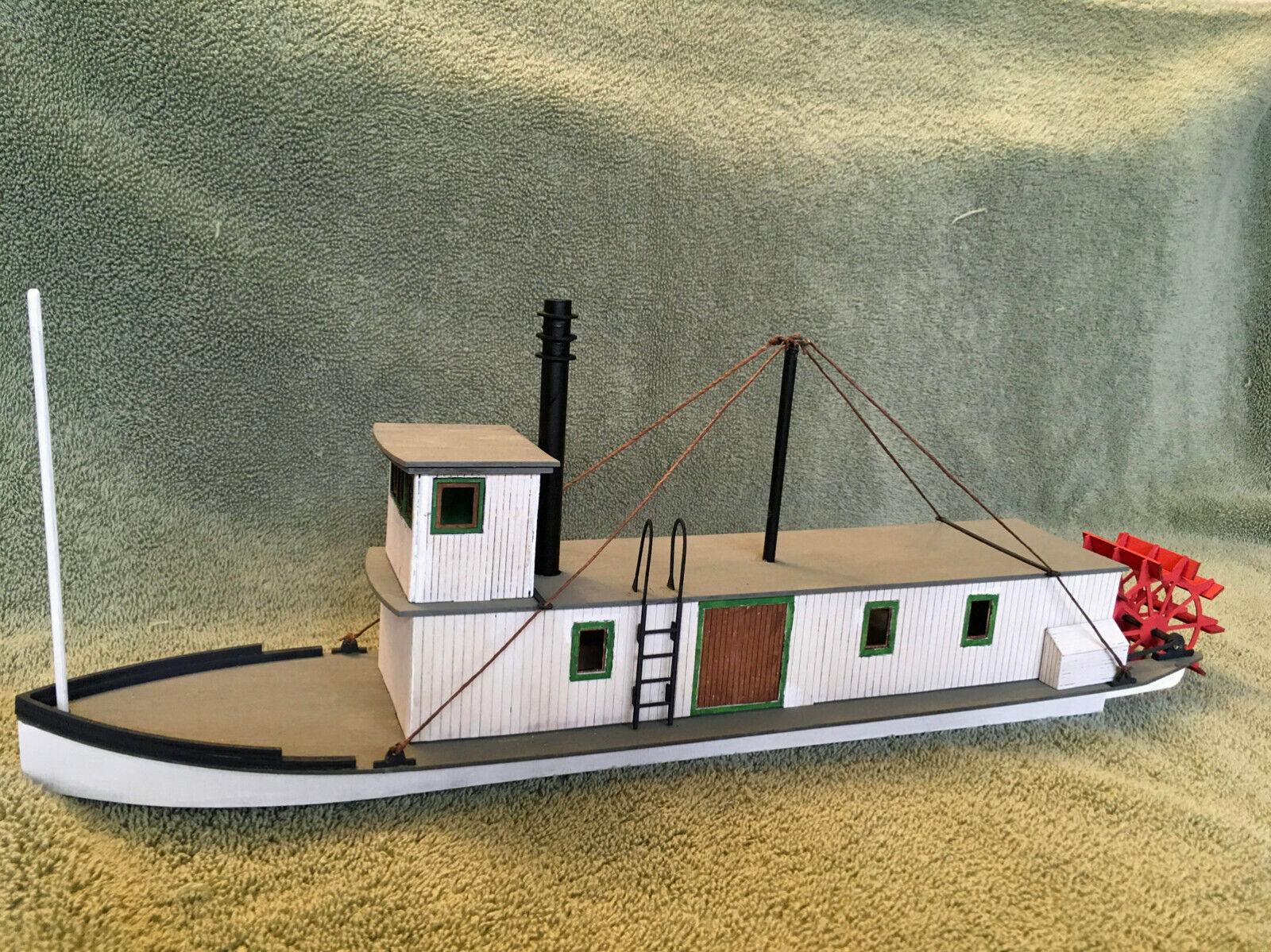 MAD River Pagaia RUOTE barca o On30 linea di gtuttieggiamento Scafo Nave unptd kit di legno LASER dfmr