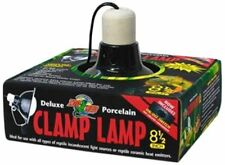 Zoo Med Deluxe Porcelain Clamp Lamp LF12