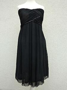 Schwarzes kleid grobe 44