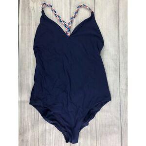 Red-Carter-Strappy-One-Piece-Swim-Suit-Size-Medium-NEW