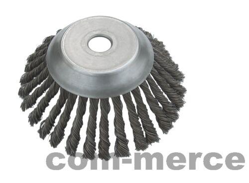 Unkrautbürste Topfbürste Zopfdraht-Kegelbürste 25,4 x 170mm Motorsense 35976