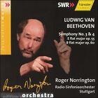 Beethoven: Symphonies Nos. 3 & 4 (CD, Mar-2003, Haenssler)