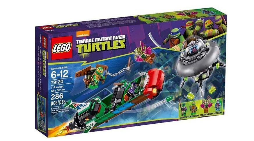 Sealed LEGO Teenage Mutant Ninja Turtles 79120 T-Rawket Sky Strike NEW FREE SHIP