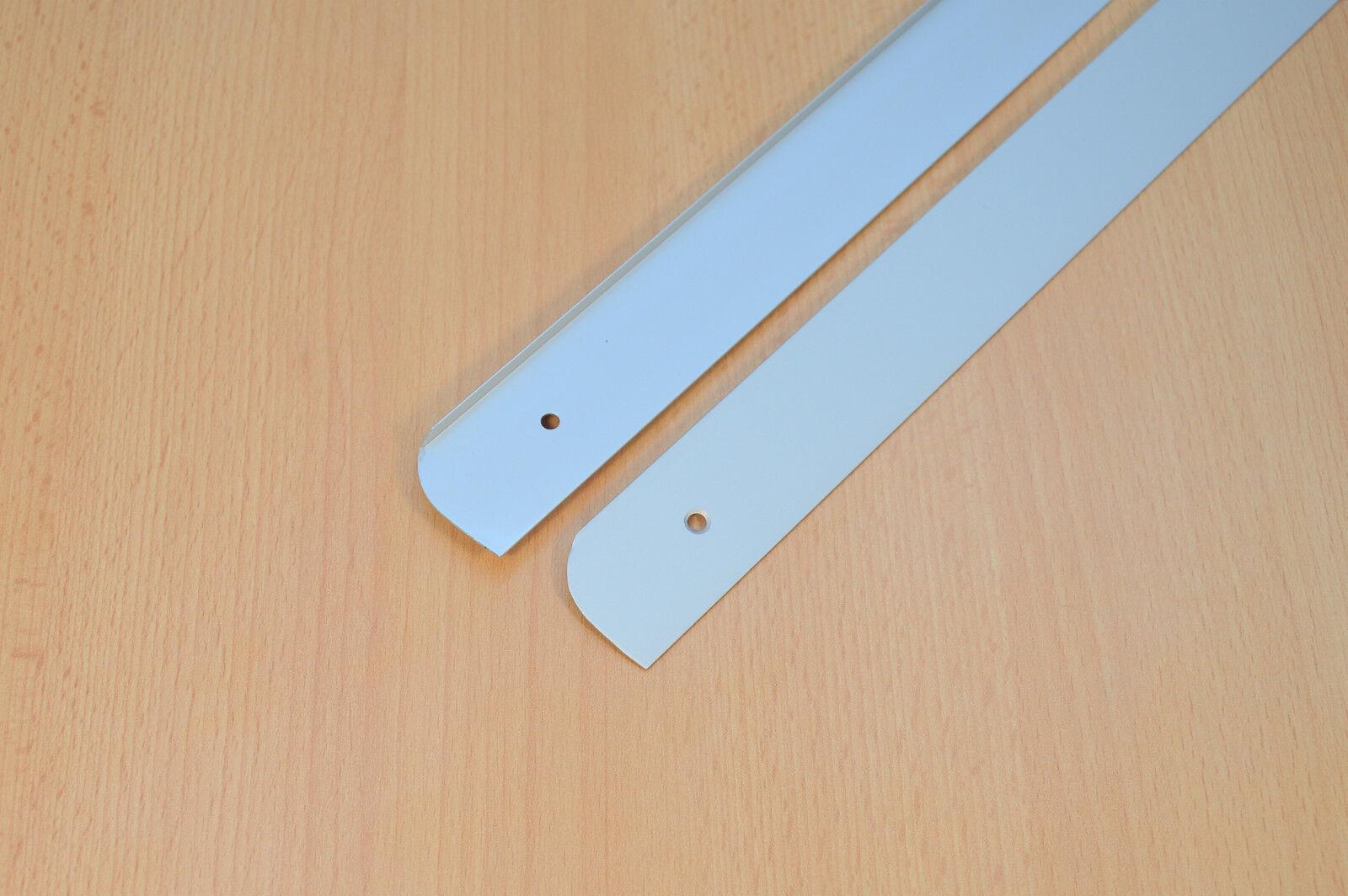 ABSCHLUSSLEISTE Winkelleisten Seiteleiste Arbeitsplatte k/üche endeleiste 38 mm