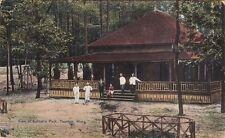 MA ~ TAUNTON ~ WORKERS AT THE PAVILION IN SABBATIA PARK ~ 1913