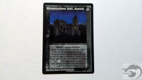 Jyhad Austria x 1 Wasserschloss Anif VtES Vampire