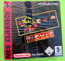 Nintendo Game Boy Advance GBA Namco NES Classics Pac Man Brand NEW Sealed Rare!