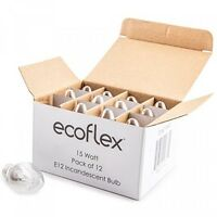 Ecoflex Long Lasting 15 Watt E12 Socket Incandescent Candelabra Salt Lamp Bulb on sale