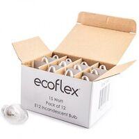 Ecoflex Long Lasting 15 Watt E12 Socket Incandescent Candelabra Salt Lamp Bulb on sale