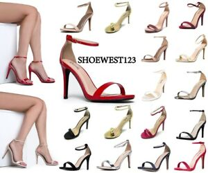 New-Qupid-Sexy-Open-Toe-Women-Pump-Shoes-Grammy-01-High-Heels-Women-039-s-Sandal