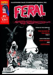 Feral-HORROR MAGAZIN-Ausgabe #2 - RAR in UK-MINT