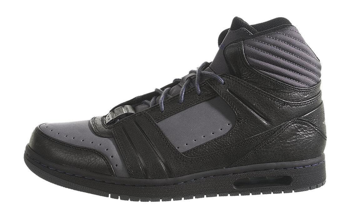 Air Jordan l'style II Talla gris oscuro / Negro Talla II 10-nib tinta c838ba