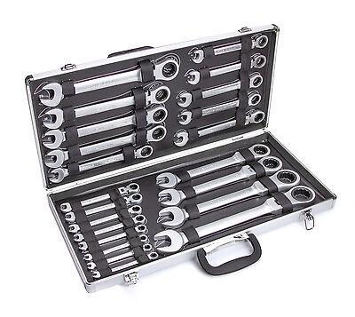 Ratschenschlüssel Ringmaul Ratschenschlüssel (Ohne Kiste) 22 tlg(XKLO-22K)