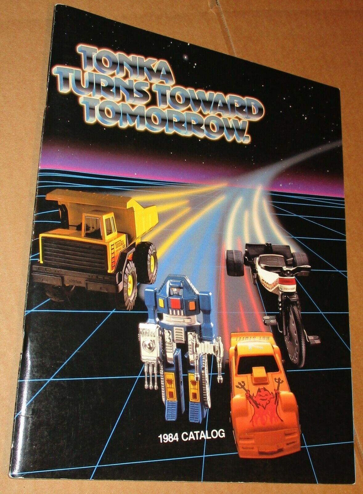 1984  Tonka giocattolo Fair Retailer Catalog - Go-Bots, MOTU Mighty Cycle, Clutch Popper  risparmia fino al 70% di sconto