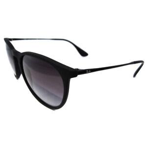 Rayban-Sunglasses-Erika-4171-Rubberised-Black-Grey-Gradient-622-8G