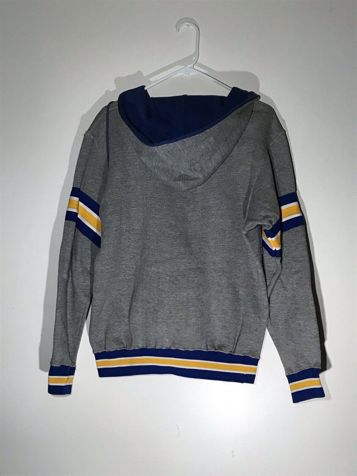 Vintage 70s Russell Athletic Hoodie Sweatshirt Si… - image 2