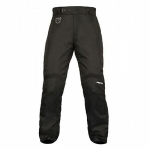Akito Tornado Ladies Textile Jeans Motorcycle Womens Trousers Waterproof Black