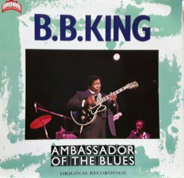 B.B. King /Ambassador Of The Blues UK/Europa 1986  very good+ LP vinyl