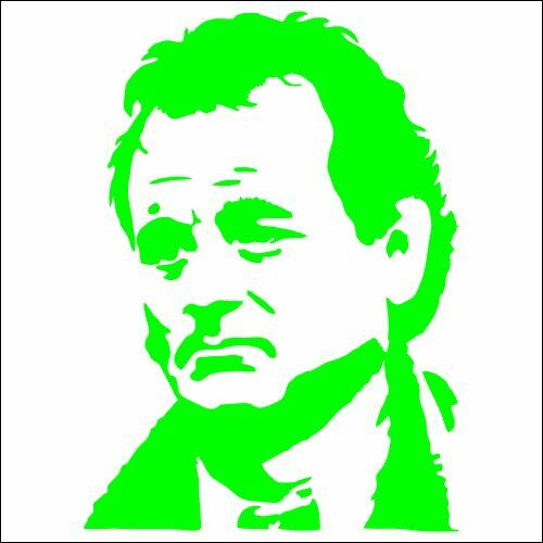 TWO Bill Murray Groundhog Day Vinyl Decal Sticker 2 Pack