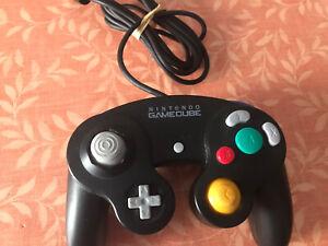 Manette Game Cube Noire Officielle Nintendo