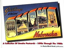 2001 Greetings From Omaha Nebraska NE Postcard Book Collection 1890s - 1980s New
