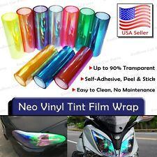 Chameleon Neo Chrome All Colors Headlight Fog Light Taillight Vinyl Tint Film