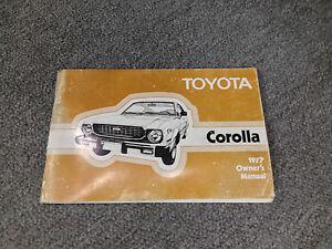 Toyota-Corolla-1977-Owner-039-s-Manual