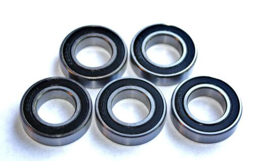5 Pack 16005 2rs  25x47x8w  SEALED HIGH PERFORMANCE CARTRIDGE BEARINGS