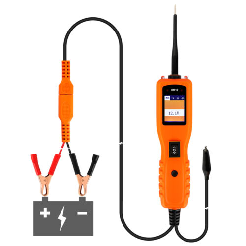 KM10 Probe 12V 24V Car Electrical Circuit Tester Voltage Power Diagnostic Tool