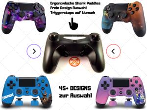 PS4-Scuf-Controller-Shark-Paddles-45-Designs-Auswahl-NEU-amp-vom-Haendler