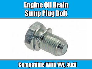 BOLT-FOR-VW-TRANSPORTER-T4-T5-AUDI-PASSAT-GOLF-BEETLE-SUMP-PLUG-ENGINE-OIL-DRAIN