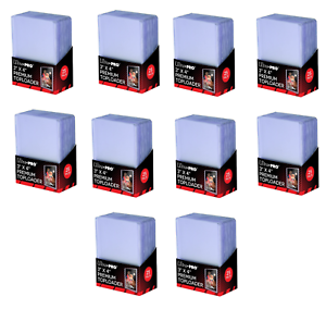 Ultra-Pro Premium Topload Trading Card Holders Heavy Gauge Clear Toploader 250