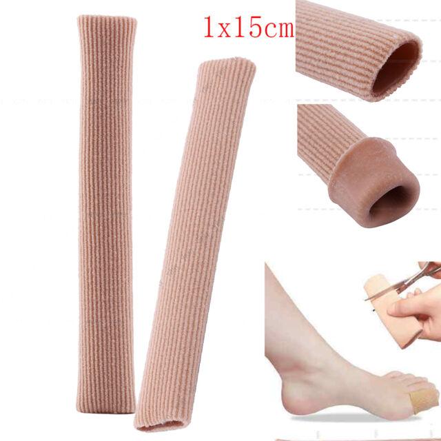 15cm Toe Silicone GEL Protector Tubes Ingrown Toenail Corn Cushion ...