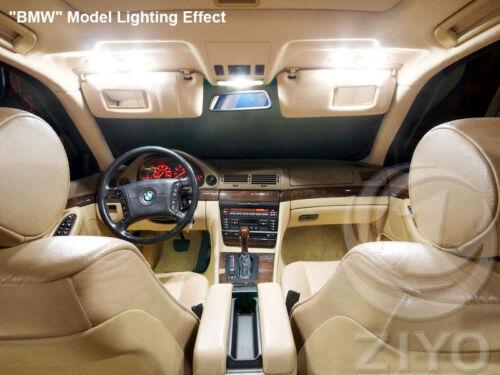 11 Bulbs LED Interior Light Kit Bulb White For AUDI A4 S4 B8//8K 2009-2016 Sedan